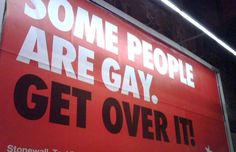 It started as a schools campaign. Get Over It, New Jersey, Bullying, Britain, Gay, Therapy, Schools, Campaign, People