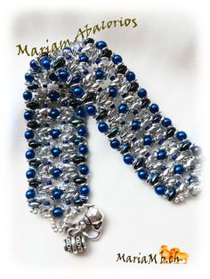 Pulsera  diseño O bead de http://ellad2.com/
