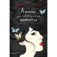 Livro - A Menina que Colecionava Borboletas