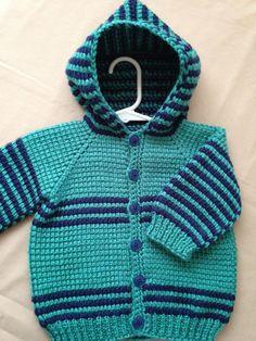 Crochet Baby Boy Sweater with Hood Dark Blue di ForBabyCreations Crochet Baby Sweaters, Crochet Baby Clothes, Baby Knitting, Gilet Crochet, Tunisian Crochet, Baby Boy Sweater, Crochet For Boys, Boy Crochet, Boys Sweaters