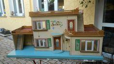 altes origin. frühes Albin Schönherr DDR Puppenhaus Haus Karin von 1955 in Antiquitäten & Kunst, Antikspielzeug, Puppen & Zubehör, Puppenstuben & -häuser, Original, gefertigt vor 1970   eBay