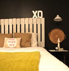 Eclectic bedroom style!