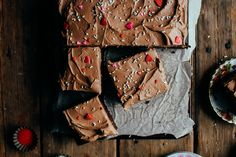 one bowl chocolate sheet cake with chocolate butter cream — the farmer's daughter