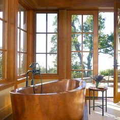 Holz Badewanne Modernes Badmöbel Design Ideen,eine Dramatische Luxuriöses  Badezimmer