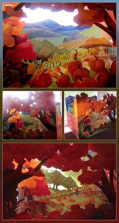 Merrell Diorama Contest - Autumn by *juliedillon on deviantART