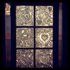 Hearts of Glass (creativegang) Tags: art photography artist crafts recycledart digitalphoto mosaictile antiqueglass diyprojects glassonglass vintagewindows glasscrafts