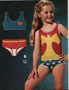 I wanted wonder woman underoos for Christmas when I was a kid. I got super girl. I wasn't happy. Looking back, super girls was cuter anyway. Lol