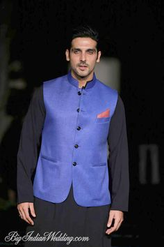 Zayed Khan for Manish Malhotra at LFW S/R 2014