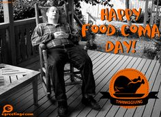 Happy Food Coma Day
