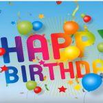 Vidám animációs születésnapi videó