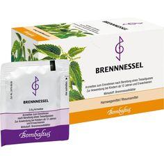 BRENNNESSEL TEE Filterbeutel:   Packungsinhalt: 20X2.8 g Filterbeutel PZN: 00672260 Hersteller: Bombastus-Werke AG Preis: 1,86 EUR inkl.…