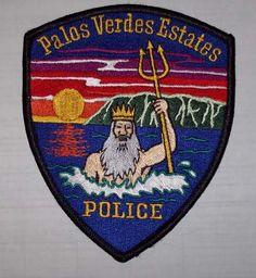 Dixon California Police Patch With Bear Flag Bear Flag