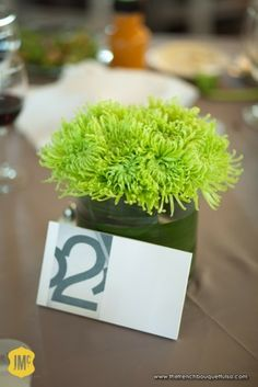 If you decided to do Bar Arrangements these would be cute!