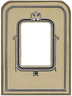 Vintage Cabinet Card Photo Frame Pressboard 5 by ~EveyD on deviantART