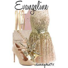 """Evangeline"" by disneykid95 on Polyvore"