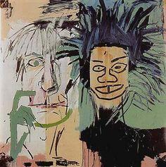 Andy Warhol & Jean-Michel Basquiat (2)