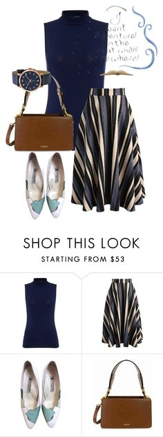 """""""bag"""" by masayuki4499 ❤ liked on Polyvore featuring Lauren Ralph Lauren, Chicwish, Lanvin, Marc by Marc Jacobs and Disney"""