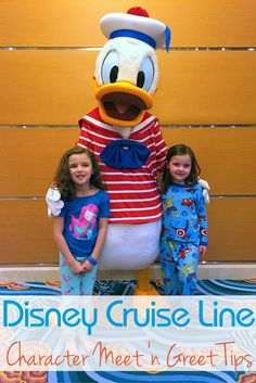Disney Cruise Line character meets are a lot of fun! With the right planning, you can meet all your favorites and get back to enjoying your cruise. These tips are easy and will make your Disney Cruise Line vacation a blast!