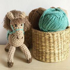 Handmade crochet amigurumi horse family от ZoZooCrochet на Etsy