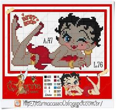 Betty BOOP x-stitch