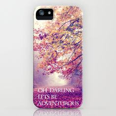 oh darling, lets be adventurous iPhone Case