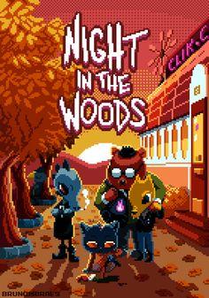 Night in the Woods by bbrunomoraes on DeviantArt