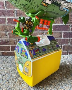 BROTHERTEDD.COM Teenage Mutant Ninja Turtles, Pinball, Arcade Games, Toy Chest