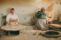 Armenian lavash, 2010 © Nariné