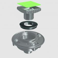 E207 – Reducing Adapter – Zurn Adapter used on Zurn No. P415 #adapter #ebbeamerica #zurn #plumbing #drain #construction #bathroomremodel #showerremodel #hairtrap #noscrews