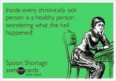 I always say that I'm really healthy other than having MS (haha)