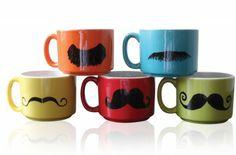 Doodle a custom 'stache on a mug! We've got easy DIY instructions | Fathers Day Crafts - Parenting.com