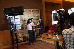 Behind the scenes at India +SocialGood with Enactus India's president Farhan Pettiwala