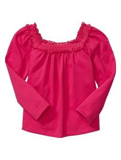 Tulle-trim T - Moms and tots are obsessed! Durable mix-and-match knits designed especially for comfort, ease, and fun- Gap