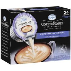 International Delight Coffee House Inspirations White Chocolate Mocha Coffee Creamers, 24ct