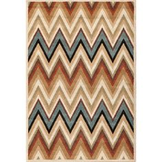 Christopher Knight Home Terrace Vienna Ziggy Multi Area Rug (5' x 7'3)