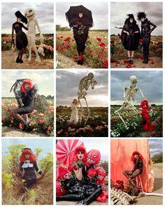 tim burton walker fashion magic - Harpers Bazaar