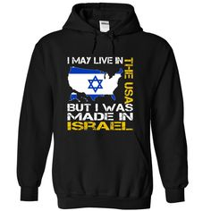 I May Live in the United States But I Was Made in Israel (Yellow)