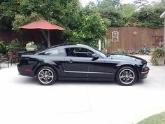 Good running hi mileage car. Body is pretty good for an 11 year old car - pictures show the rust spot and the small crease in the rear wheelwell. 2008 Ford Mustang, Ford Mustang Bullitt, Sally, Automobile, Black Leather, Bmw, Car, Autos, Cars