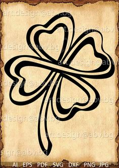 Celtic Clover Tattoos, Celtic Knot Tattoo, Celtic Tattoos, Celtic Knots, Celtic Symbols, Tribal Tattoos, Tattoos Skull, Tatoos, Wing Tattoos