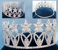 american beauty queen crowns | RoyaltyCrowns.com - Beauty Pageant Rhinestone Crown Tiara - Store