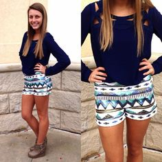 Cute Sequin Shorts