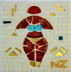 #GermanySignsProject  Neslihan Zabci Erdal Mosaic Projects, Art Projects, Jung In, Special People, Letters And Numbers, Mosaic Art, Presents, Product Launch, Symbols