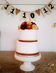 Photos by G.M. Paris Bakery Livonia – G.M. Paris Bakery Livonia Pictures. Fall colors, simple wedding cake