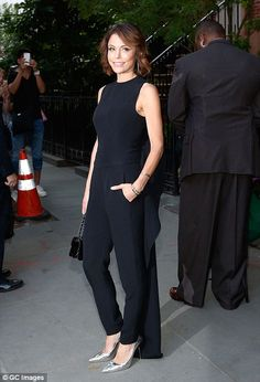 TV personality Bethenny Frankel (pictured) was also in attendance...