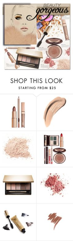 """""""Beauty Gorgeous"""" by rosie305 ❤ liked on Polyvore featuring beauty, Physicians Formula, Charlotte Tilbury, Clarins, Jane Iredale, Lancôme, Beauty and rosie305"""
