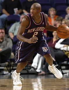 Coach Doug Overton, seen here playing as a member of the Nets back in the early 2000s!