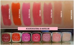 Os Batons Color Sensational Da Maybelline