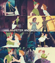 Favorite Couple. Peter Pan and Wendy. Adorable!! :)
