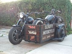 Mercenary Garage: XS1100 Transporter #YamahaXS1100 #Mercenary #MercenaryGarage