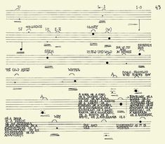 Sub Rosa - john cage from Song Books (1970)